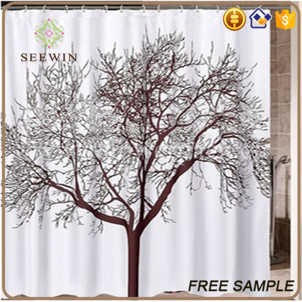 Whole Colored Waterproof Polyester Shower Curtains Buy