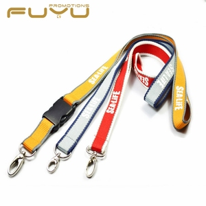 Fuyu colorful waterproof individual fluorescent lanyard