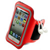 2014 Personalize Sport Armband Running Gym Strap Leather Armband for iphone 6, with key pocket can do customer logo