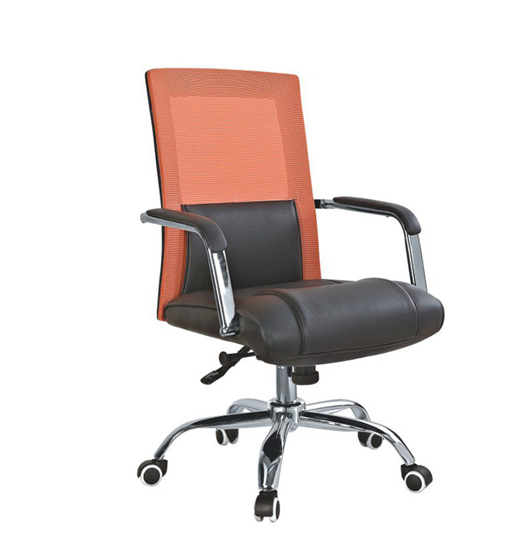 High Back Comfortable Office Chair Description with armrest