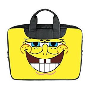 dd0a8297bc4959 JOJO Custom Laptop Bag Spongebob Computer Handbags for 15 inch Messenger  Bag Office Easy Carry