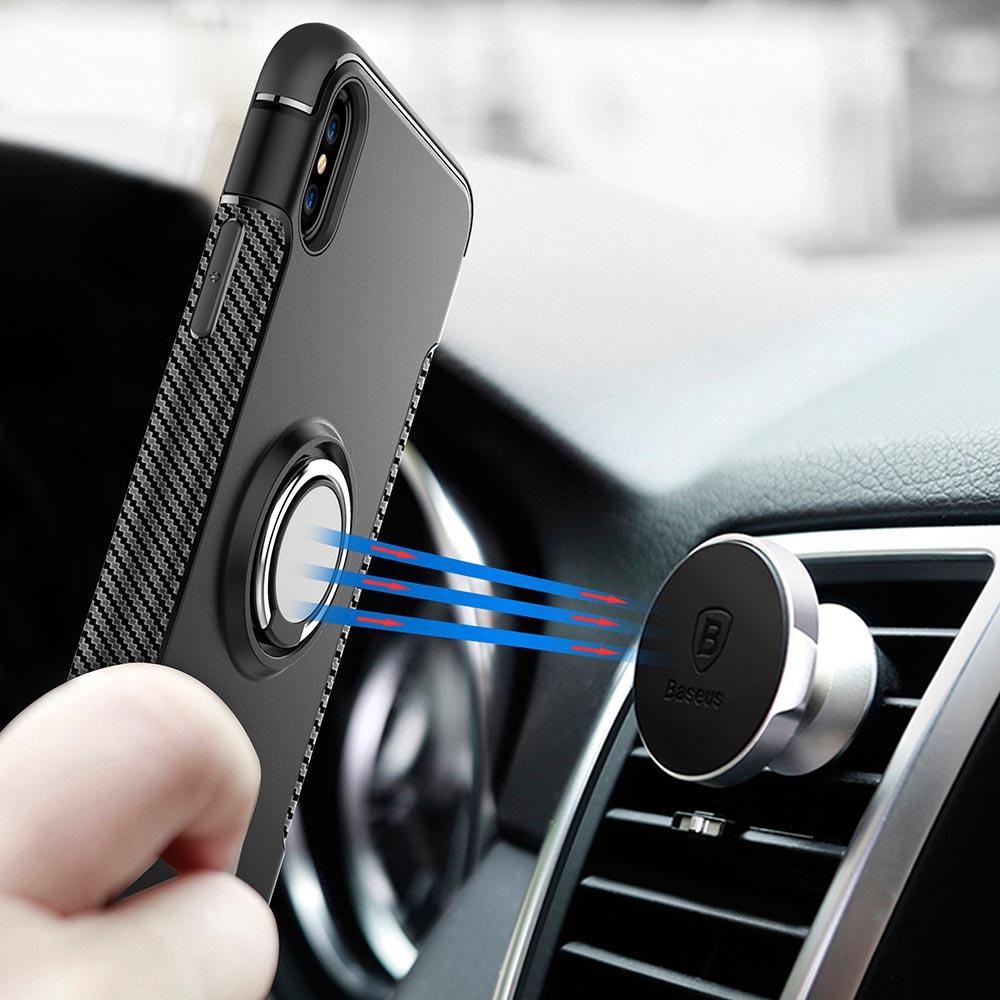 Soft TPU Car Stand Phone Cases