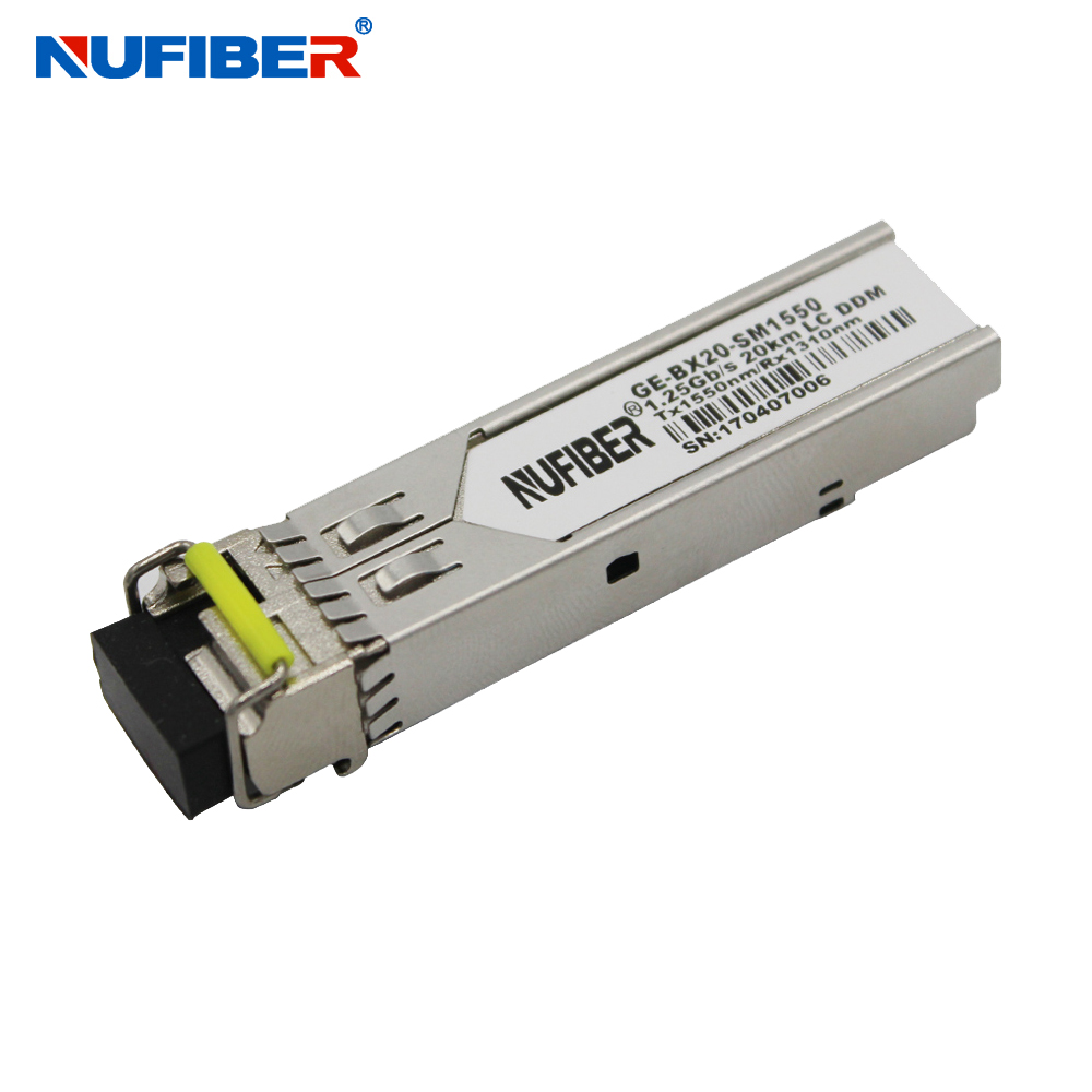 SFP Module 1.25G WDM 20/40/80/120KM LC/SC 1310/1550nm SFP Transceiver for SFP Switch