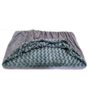 Snuggery Burrow Pet Bed Luxury Dog and Cat Bed with Blanket for Warmth and Security