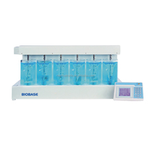 BIOBASE tester used to carry out the jar test during procedure of water treatment.