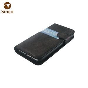 Cash pocket leather mobile phone covers for iPhone
