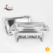 9L stainless steel food warmer dish chafing for restaurant buffet