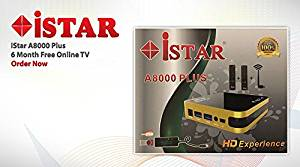 iStar A8000 Plus IPTV with 6 MONTHS FREE subscription provide 6 months  software Warranty Arabic Turkish Kurdish English Persian & more channels include MBC Dubai OSN Bein Sport Nile SKY Group