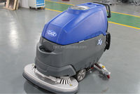 Shopping mall used push type floor dry cleaning machine working 5 hours