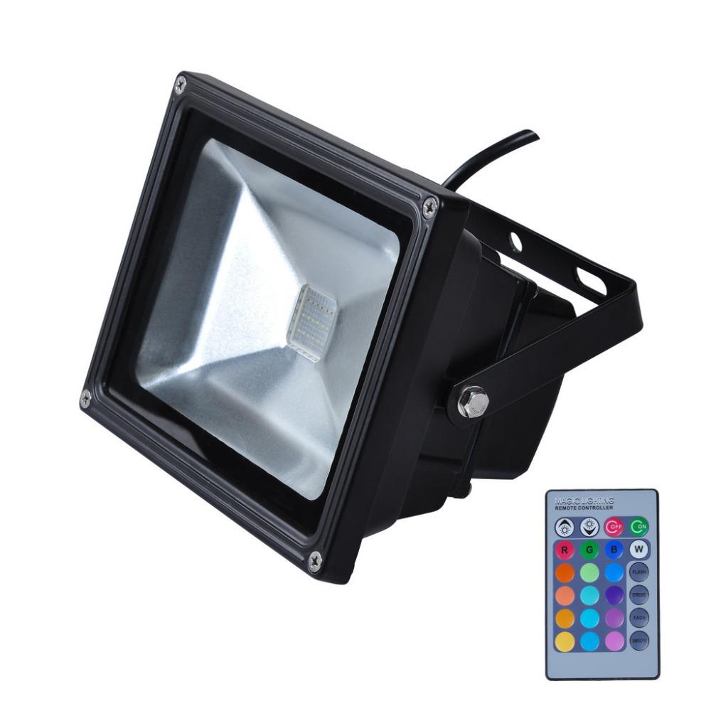 Led Flood Light Exterior: Hot Sale IP65 Waterproof 10W RGB Led Flood Light Outdoor