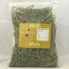 small/normal/lager plastic packaging/pouch/bag of alfalfa hay with custom design