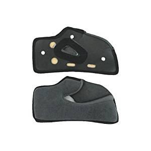AGV GP-Tech Motorcycle Helmet Cheek Pads Gray XL X-Large