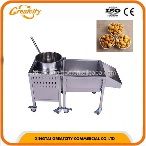 Industrial Popcorn Maker/popper,High Capacity Automatic Commercial ...