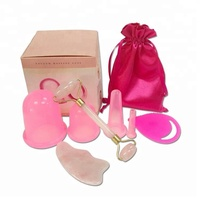 Wholesale 4 sizes Anti cellulite silicone therapy cupping set