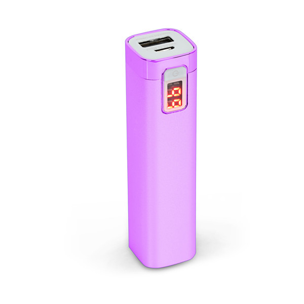 digital display usb aluminium perfume power bank