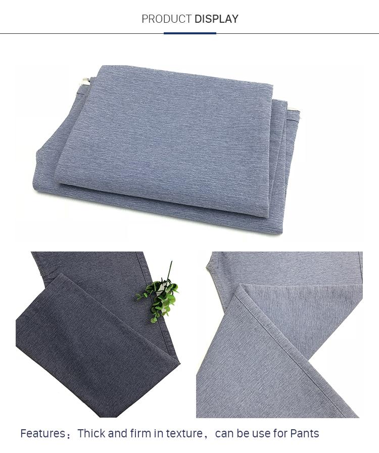 Fabric Supplier Cotton Plain Weave Fabric For Pants