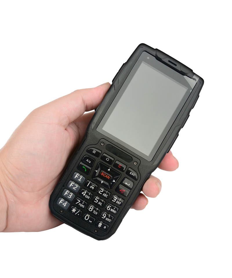 Cheapest Factory 3.2 Inch 4G LTE Android6.0 Rugged Handheld PDA With UHF RFID Handheld PDA