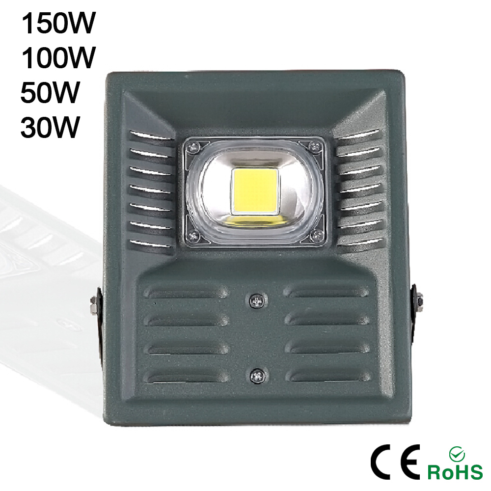 led flood light outdoor waterproof 30w 50w 100w 150w 220v high brightness projecteur led. Black Bedroom Furniture Sets. Home Design Ideas
