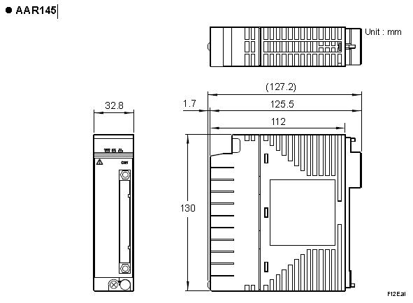 Yokogawa RTD/POT Input Module AAR145-S50 AAR145-S53 AAR145-S00 AAR145-S03
