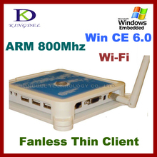 NEW  Mini pc station, Ncomputing, thin client with 800Mhz, 32 Bit, Microphone, Win CE 6.0, Touchscreen supported