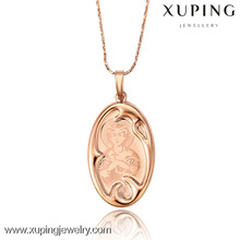 31995 Christmas gift fashion rose gold color pendant luck