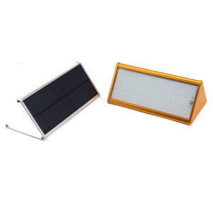 Outdoor LED Solar Motion Sensor Lights Wireless Waterproof Exterior Solar Security Wall Light