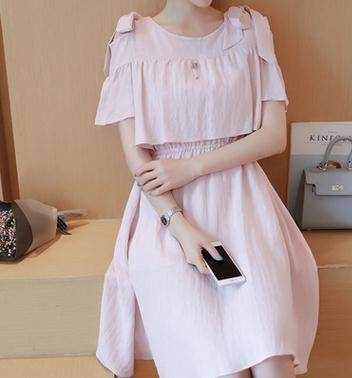 2016 Summer High Quality Maternity Clothes Nursing Dress Fashion Cotton Linen Breastfeeding Dress for Pregnant women