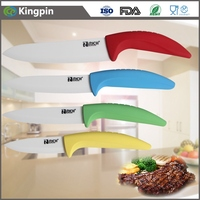 4pcs fine color ceramic kitchen knife sets