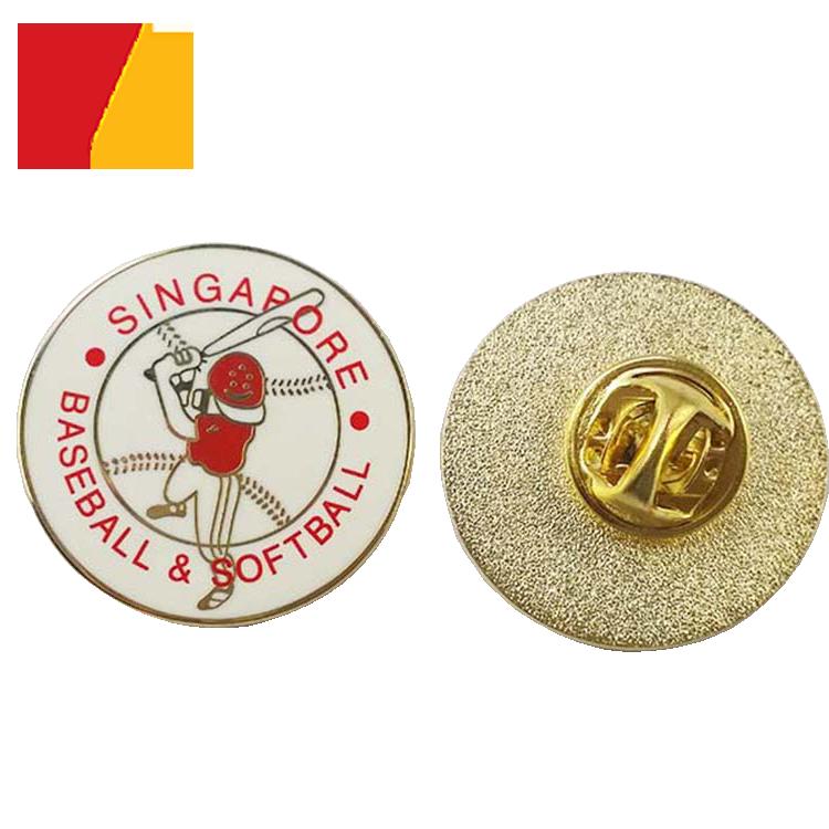 Factory Price Custom Hard Enamel Metal Badge Pins / Badge - Buy