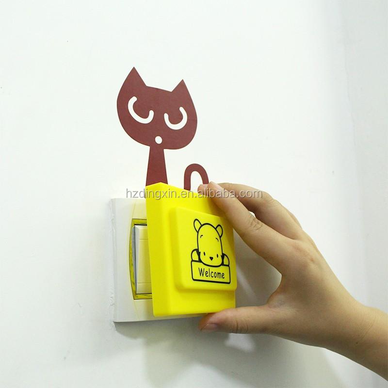 Custom elektrische decoratieve plastic lichtschakelaar plug plaat covers keuken bad muur - Plaat bad ...