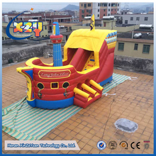 Hot sale commercial jumping bouncer house combo jump inflatable bouncy castle with water slide