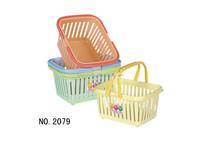 high quality cheap price small plastic strawberry baskets/plastic gift baskets/plastic collapsible plastic basket