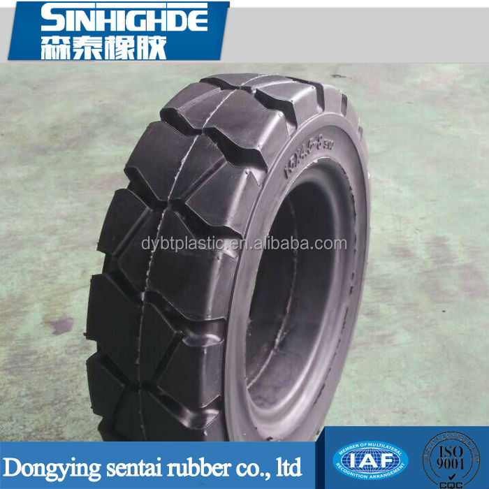 New design fashion low price Forklift Solid Tire 15x4.5-8