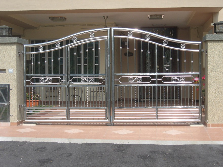 Stainless Steel Main Gate Design Buy Cheap Sliding Gate For Home