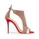 2018 wholesale summer red blue women ladies girls photo stilettos high heel sandals