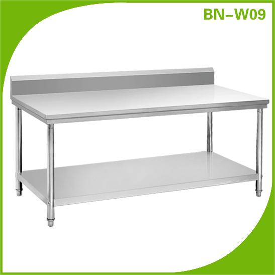 Restaurant Kitchen Work Tables stainless steel commercial kitchen tables. simple stainless steel