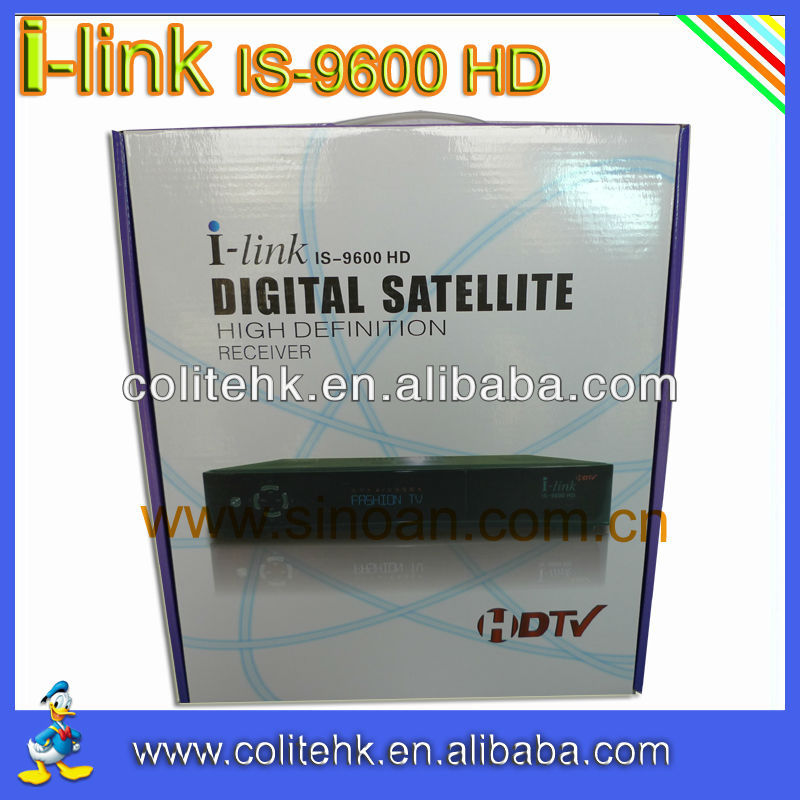 Ilink 210/ILink 9600 HD With LS500 8psk Satellite Receiver For North America