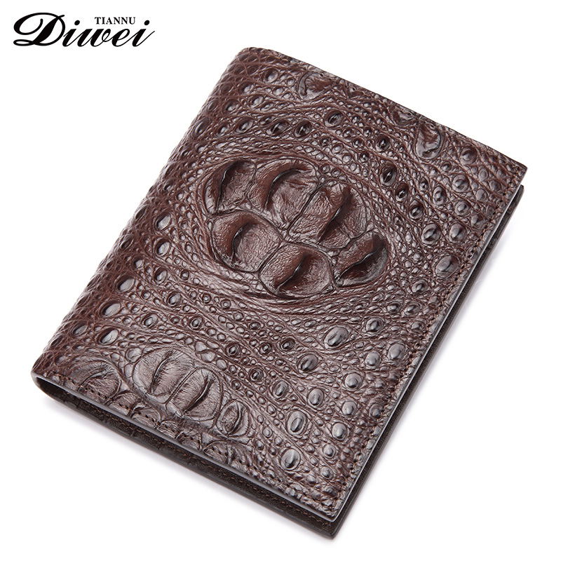 High-end Customized Men Crocodile or alligator leather wallets