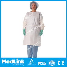 AAMI Level 2 Wholesale Disposable Non-woven Long Medical Isolation Gown