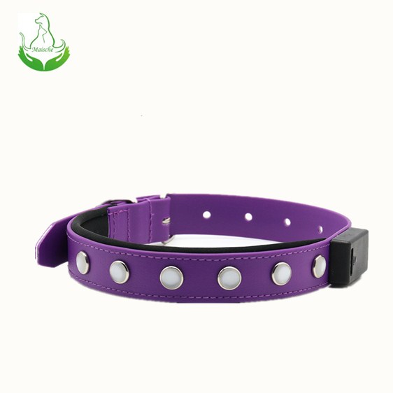 100% water proof LED pet collar USB rechargeable dog Collar