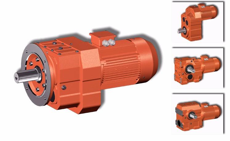 R series Inline Structure Conveyor Gearbox Reducer Manufacturer