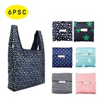Bagsplaza Reusable Shopping Grocery Pouch Bags Washable Foldable Heavy Duty Shopping Tote Bag Large Eco-Friendly Purse Bag