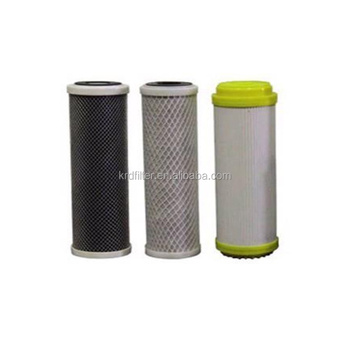 e75081c9d9e7 T33/CTO Activated Carbon Charcoal Water Filter Cartridge for Residential RO  System
