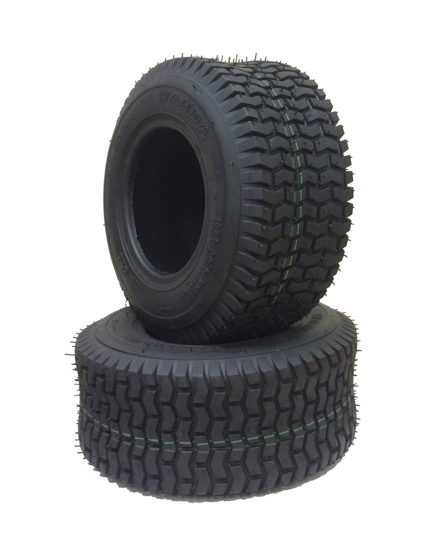 2 New 13x5.00-6 Lawn Mower Utility Cart Turf Tires /4PR - 13106