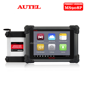 Multi-Languages Autel MaxiSys Pro MS908P Car Bluetooth/WIFI Diagnostic / ECU Programming Tool with J-2534 System Update Online