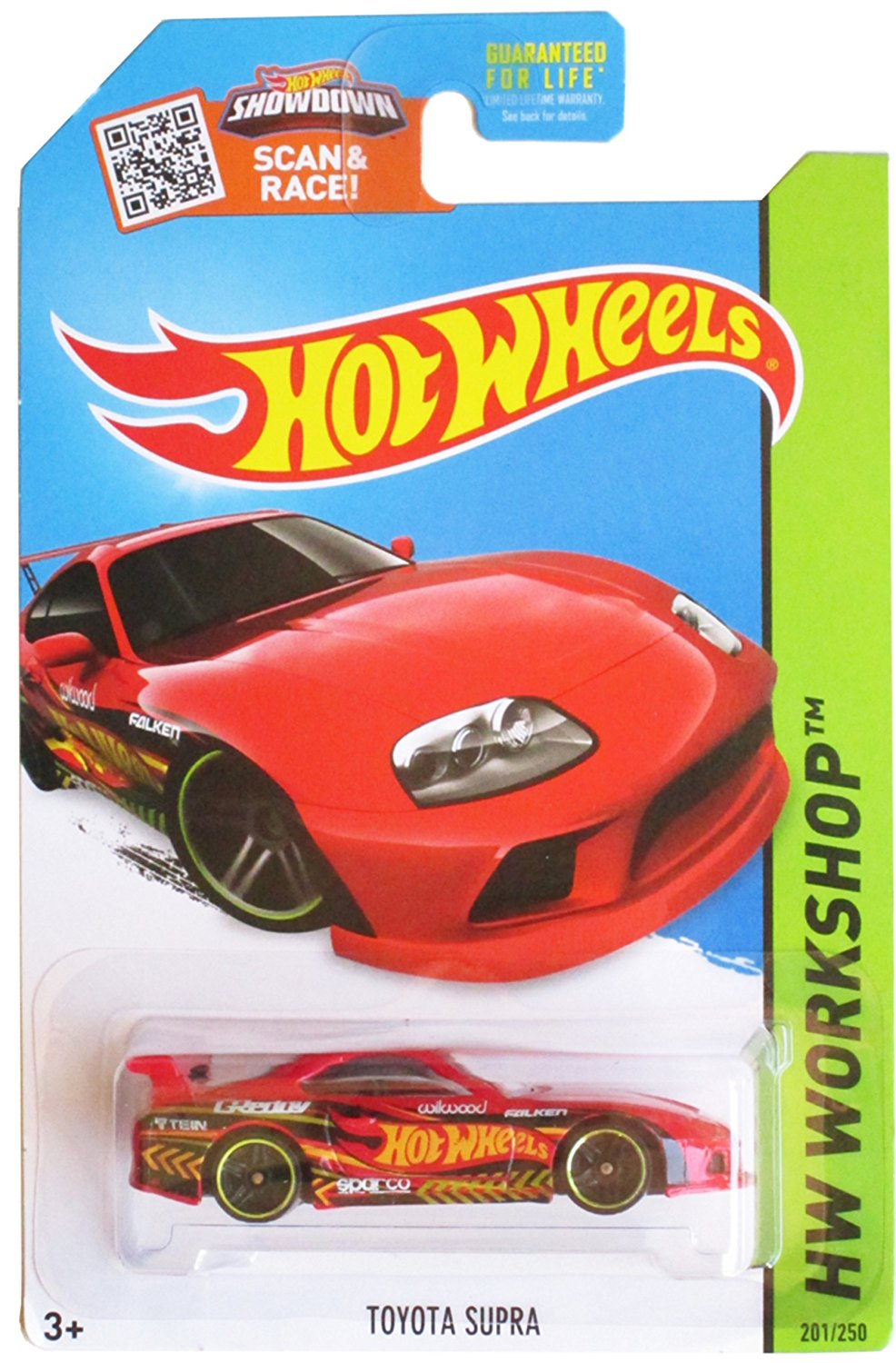 Get Quotations · Hot Wheels, 2015 HW Workshop, Toyota Supra [Red] Die Cast  Vehicle