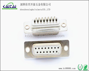 15 pin female usb d-sub mini solder connector