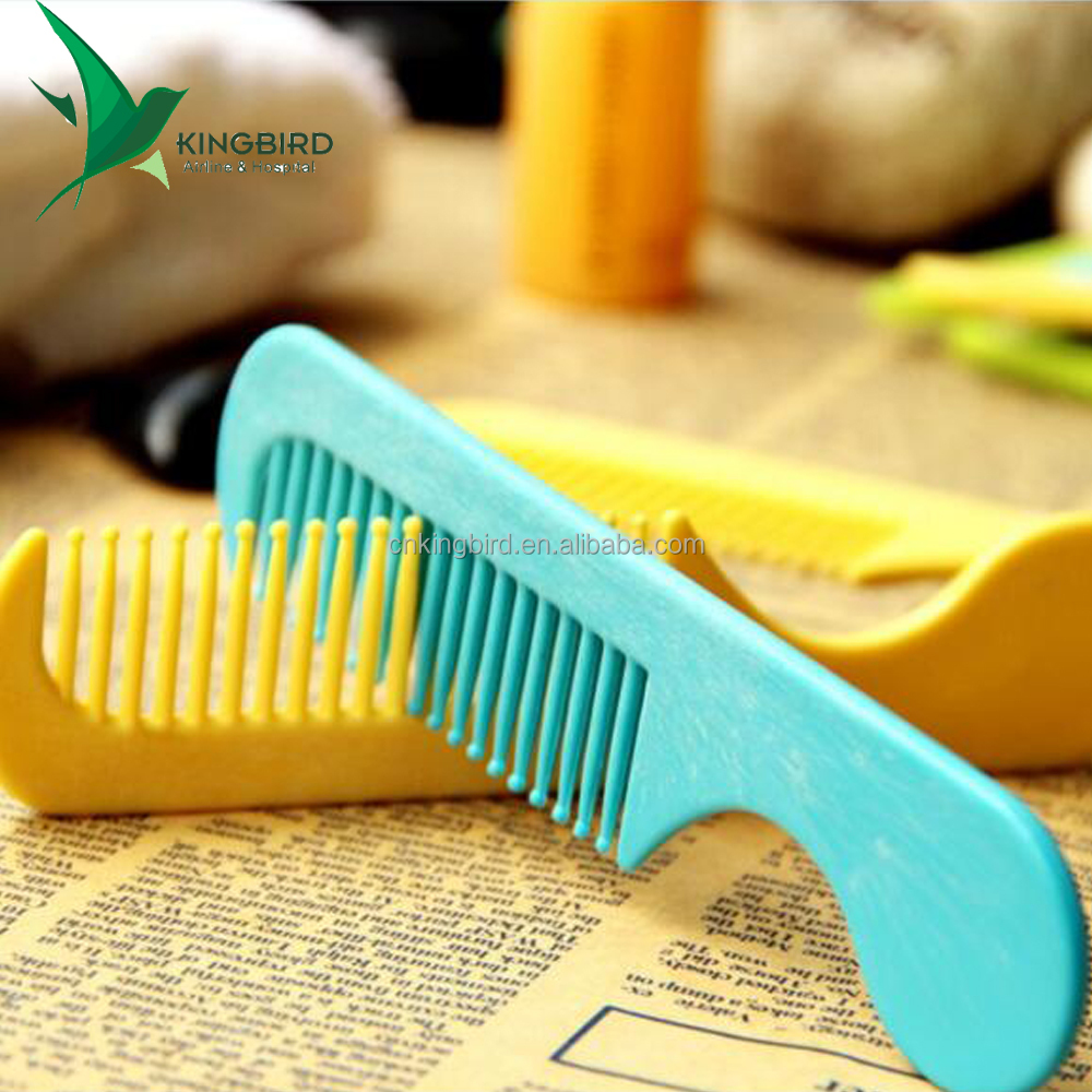 Factory Sell Magic Folding Pocket Hotel Plastic Disposable Comb