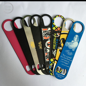 Sales promotion cheap but high quality beer bottle opener with printing