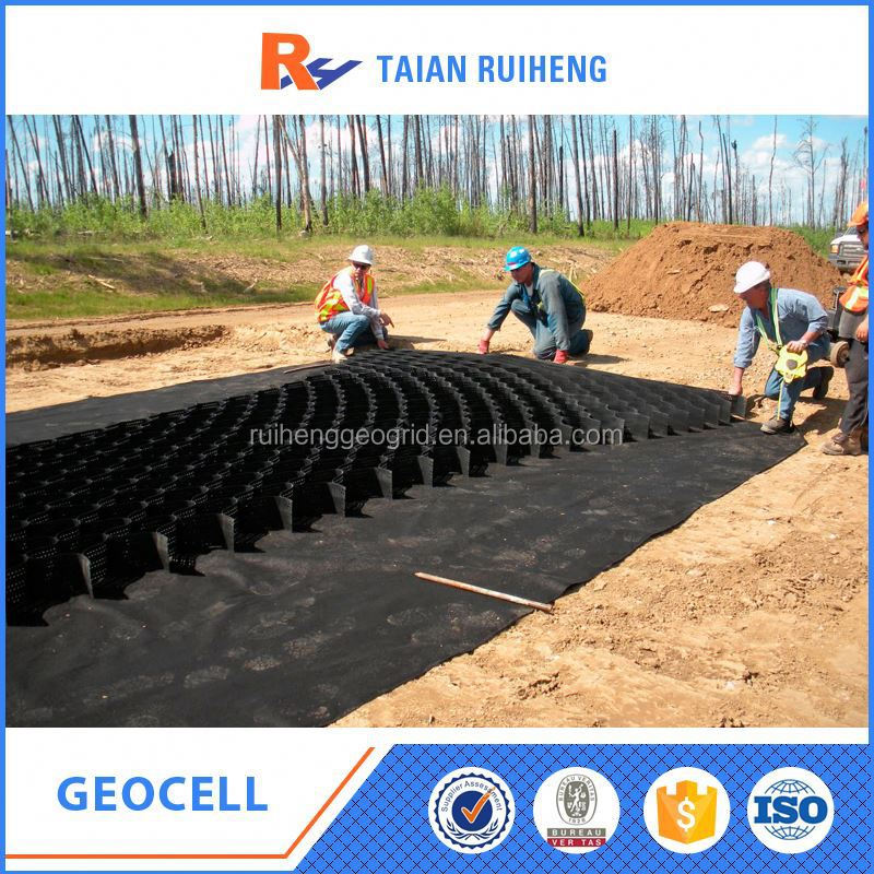Plastic Geocell For Gravel Stabilizer